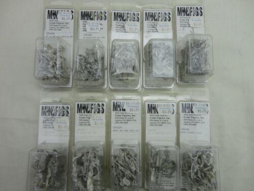 15mm Minifigs Napoleonic Unpainted Miniatures NOS 4