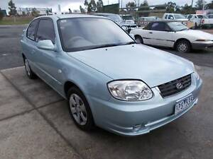 2005 Hyundai Accent Hatchback (3769) Warrenheip Ballarat City Preview