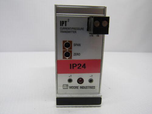 Moore IPT2 CURRENT PRESSURE TRANSMITTER IPT/4-20MA/3-27PSIG/20-40PSI-FA7-EPS
