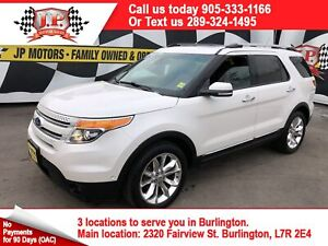 2015 Ford Explorer Limited, Leather, Panoramic Sunroof, 4x4