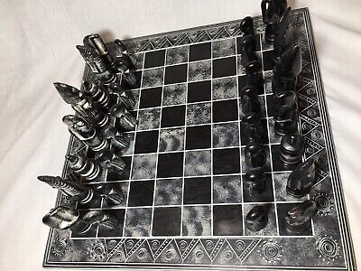 Hand Carved African Soapstone Chess Set/ Animal Figures/Valentine's Day Gift!