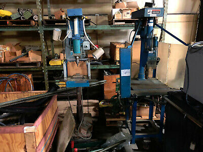 Drilling And Tapping Both Machines