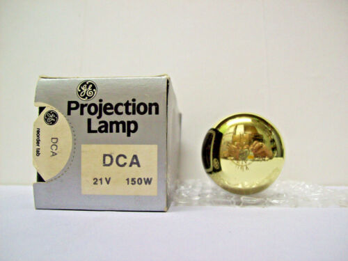 DCA Projector Projection Lamp Bulb 150W 21V GE *AVG 15-HOUR LAMP LIFE*