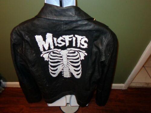 Misfits DIY Biker Jacket SIZE MENS LARGE