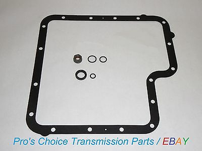 (Shifter Control Lever Linkage Reseal Kit & Pan Gasket--Fits All C6 Transmissions)