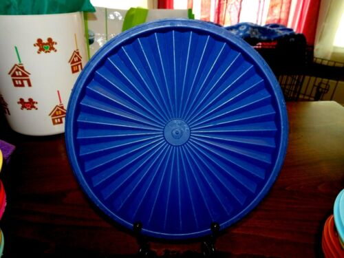 """Tupperware Servalier 8"""" Round Seal Blue #1205 Replacement Seal"""