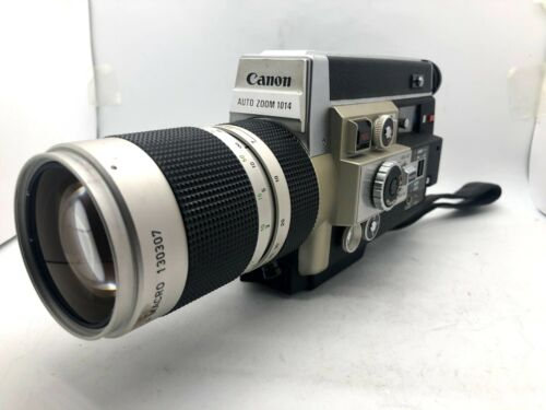 【EXC+4 】CANON Auto Zoom 1014 Electronic Super 8 Movie Film Camera From JAPAN