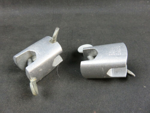 Cenco fixed right angle clamp holder 0.75 inch jaw lot of 2 chemistry lab clamps