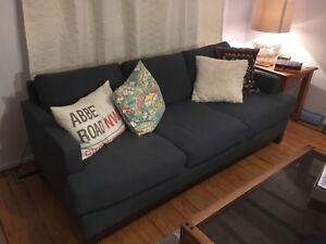 Mid century Teal Sofa