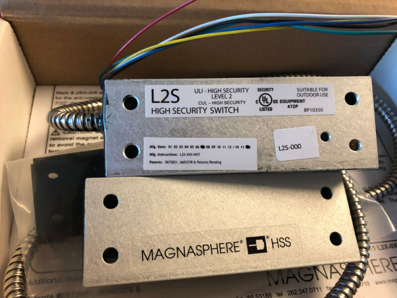 Magnasphere HSS-L2S -000 High Security Switch