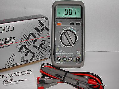 Kenwood Dl-91 3-34 Digit High Resolution Digital Multimeter Dmm New Nib