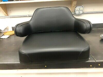 Black Vinyl Seat Cushion Set Case Ih 895 695 595 685 International 684 784 584