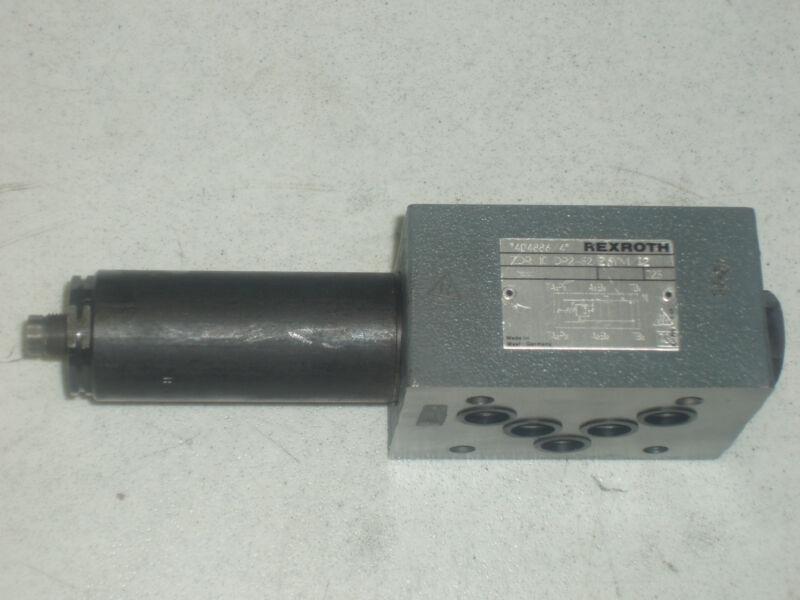 REXROTH ZDR-10-DP2-52/25YM/12 PRESSURE REDUCING VALVE