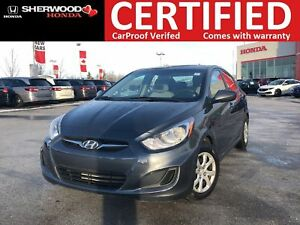 2013 Hyundai Accent L| HEATED SEATS| KEYLESS ENTRY| AUX/USB