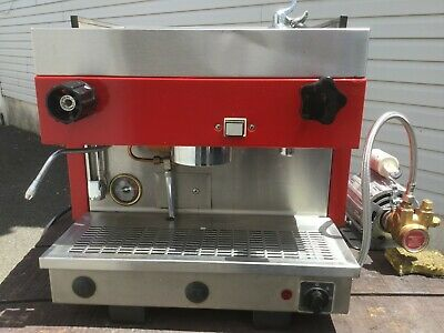 Carimali 1 Group Espresso Cappuccino Latte Machine 110v