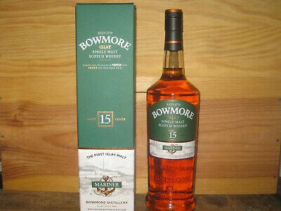 Bowmore 15 yo - Mariner - 1,0l - sehr rar!!