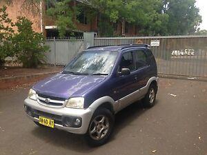 2002 Daihatsu Terious Pendle Hill Parramatta Area Preview