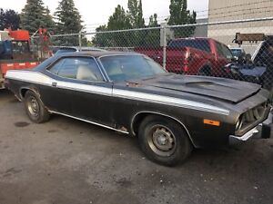 1973 Plymouth Cuda 340 Matching Numbers