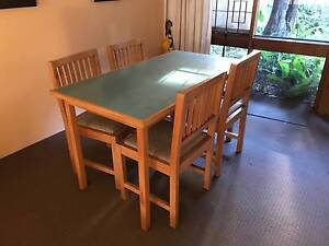 Dining Table + Chairs Neutral Bay North Sydney Area Preview