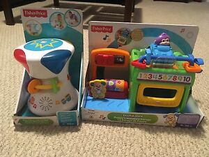 2 new Fisher-Price Baby Toys