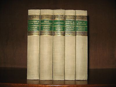 5 vols,  Charles Dickens from the Walter Black Classic Editions (GC Literature)
