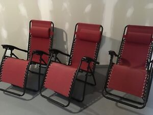 Gravity chairs 3 for $50