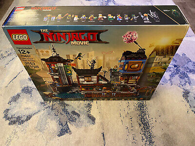 LEGO Ninjago Movie Ninjago City Docks (70657) New In Box Factory Sealed Retired