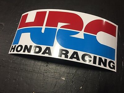 Hrc Retro Motorcycle Decal Motocross Stickers Honda Racing Cbr Vtr Vfr