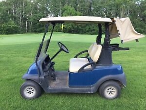 2012 Electric Club Car golf cart NEW BATTERIES!