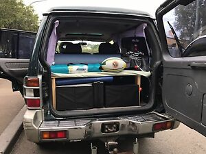 Reliable 2000 Mitsubishi 4x4/ low kms/ full camping equipped Sydney City Inner Sydney Preview