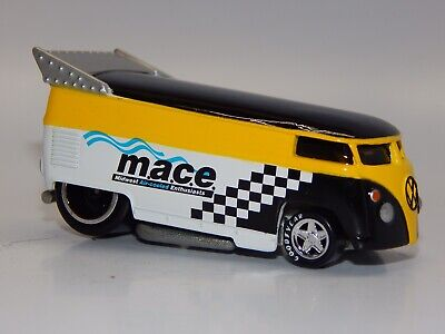 Hot Wheels 100% LE BW Volkswagen MACE Drag Bus Exclusive B&W NM+ Loose VHTF
