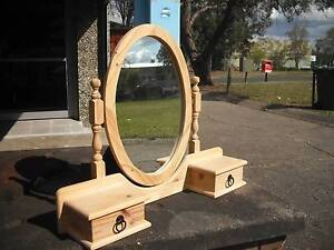 DUCHESS*SOLID PINE TIMBER*SWIVEL CHEVAL MIRROR*2 JEWELLERY DRAWER Cartwright Liverpool Area Preview