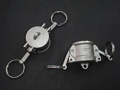 Stainless Steel Cam Lock Cap Cover 1 Assembly Clcv100