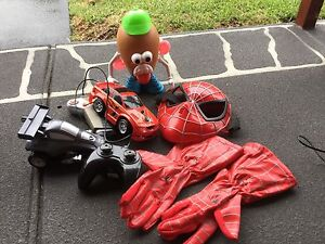 Various games & consoles, remote control cars, action man figures Glendenning Blacktown Area Preview