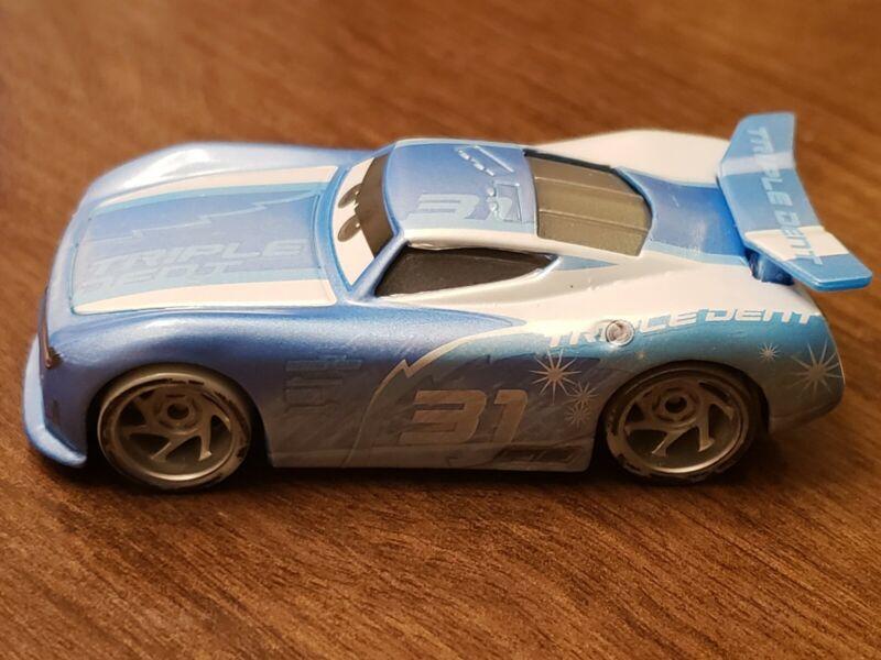 Disney Pixar Cars 3 Cam Spinner Triple Dent Fireball Beach 1:55 Loose No Package