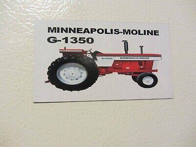 Minneapolis Moline G-1350 Fridgetool Box Magnet