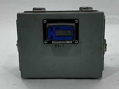 Gpi Industrial Grade Electronic Digital Meter W Hoffman A1008chnf Enclosure
