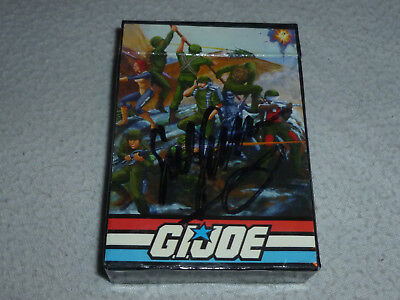 NEW GI JOE CON JOECON 25TH ANNIVERSARY CONVENTION CARD SET SIGNED SGT SLAUGHTER