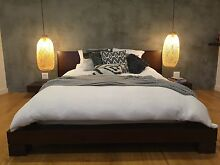 Minimalist Queen Size Bed with integrated side drawers. Forestville Warringah Area Preview