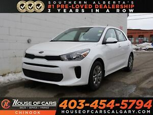 2018 Kia Rio LX+ w/ Backup Camera, Heated Seats, Bluetooth