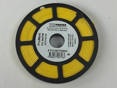 Promark Po-068tw 4.5m Partex Marking System Industrial Label