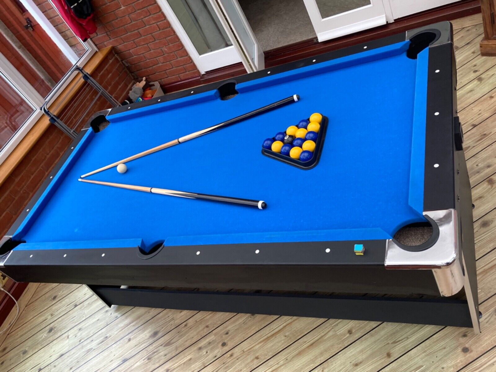 Pool table used 7ft approx