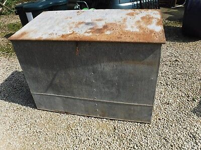 Galvanized Log Store Leaver & Fox WSM  OR Feed, Recycling, Rubbish, Compost BA14