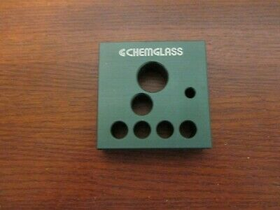 Lab Chemistry Equipment Chemglass Aluminum Heat Transfer Block