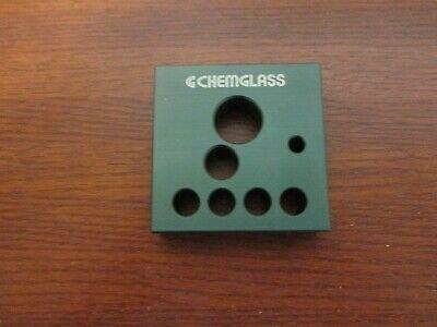 Lab Chemistry Equipment Chemglass Aluminum Heat Transfer Block