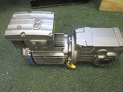 Sew-eurodrive Gear Motor W Brake Dre80h4hh07 1hp Ratio 48.95 Torque 1814 Lb-in