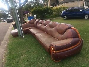 Lounge 7 seats with L shape for free Ermington Parramatta Area Preview