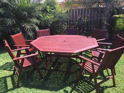 Outdoor Furniture,  table and chairs. Narangba Caboolture Area Preview