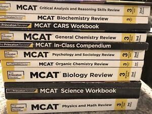 Princeton Review MCAT Prep Books 2nd Edition