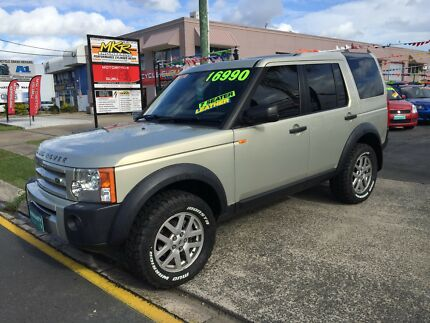 2007 LANDROVER DISCOVERY 3 SE 4x4, rego, Rwc, automatic, low kms